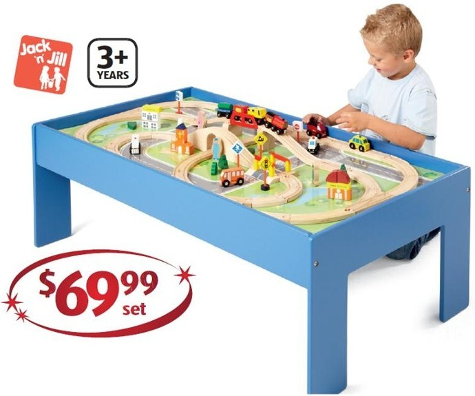 aldi train set instructions
