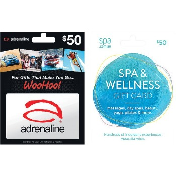 Spa And Wellness Gift Card Woolworths