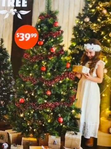 purchase cheap 760d4 2e9a9 Aldi - Christmas 2018 Sale: Lights; Trees & Decorations e.g. ...