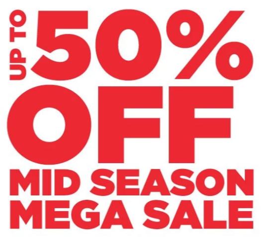 Sale Up To 50% Off Mid Season Mega Sale | JD Sports