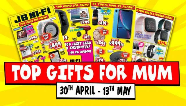 Jb Hi Fi Mum S Day Sale 3 Days Only In Store Online Topbargains