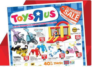 Toys R Us - Toys Clearance Sale - 20-75% Off Big Brand ...