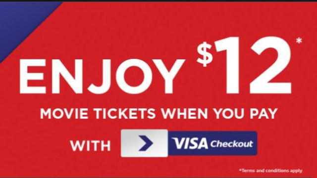 12 Hoyts Movie Tickets With No Restrictions Through Visa Checkout