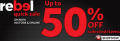 Rebel Quick Sale,up to 50% off!
