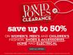 David Jones Super Weekend New  Offers!!
