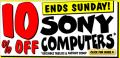 JB Hi-Fi 10% off Sony Computers!