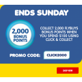 Liquorland - 2000 Flybuys Bonus Points with Click & Collect Orders - Minimum Spend $100