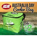 $2 Australia Day Cooler Bag from IGA (eligible purchases in some IGAs)