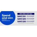Big W - Spend & Save: $10 Off $100 | $20 Off $150 | $30 Off $200 Orders (code)! 3 Days Only