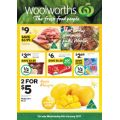 Woolworths - 1/2 Price Food & Grocery Specials - Starts from Wed, 4th Jan