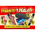 CatchOfTheDay Dynamite $1 Deals:Portable Bluetooth Speakers, ASICS  Shoes, earbuds for Just $1- Starts 9am Thursday