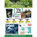 Woolworths  - 1/2 Price Food & Grocery Specials - Starts Wed, 6th Sept.