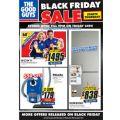 The Good Guys - Black Friday Sale 2017 Catalogue: Philips Azure Steam Iron $49 (Was $99); Google Chromecast Ultra $78 (Was $129) etc.