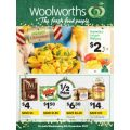 Woolworths - 1/2 Price Food & Grocery Catalogue - Starts Wed, 6th Dec