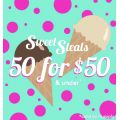50 items for $50 ea and UNDER @ City Chic!