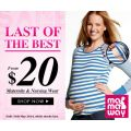 Mamaway - Last of the Best clearance sale - many items now $20