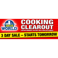 2nds World Cooking Clearout - Ovens, Cooktops, Dishwashers >50% off RRP