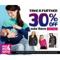 Extra 30% off sale at Mamaway