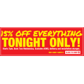 2nds World - 15% Off Everything (code)! 12 Hours Only
