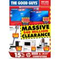 The Good Guys - Massive $40 Million Clearance Sale - Valid until Wed, 13th Feb