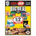 IGA - 1/2 Price Food & Grocery Specials - Valid until Tues 27th Aug