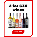 Liquorland - 2 Wines for $30 (Usually Sells for $19 - $30 each)