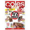 Coles - 1/2 Price Food & Grocery Specials - Ends Tues 19th Nov