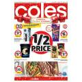 Coles - 1/2 Price Food & Grocery Specials - Ends Tues 26th Nov