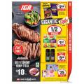 IGA - Weekly 1/2 Price Food & Grocery Specials - Ends Tues 27th Oct