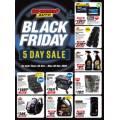 Supercheap Auto Black Friday 5 Days Sale: Starts Thurs 26th November - Ends Mon 30th November