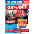 The Good Guys - Door Buster Deals Frenzy - 1 Day Only