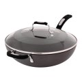 The Good Guys - Tefal Hard Anodised Specialty 32cm Wok Pan & Lid $25.5 + Free C&C (Was $149)