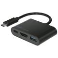 The Good Guys - Cygnett USB-C to USB-A HDMI & USB-C Charge Hub $34.3 (Was $79.95)