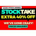 Catch - Stocktake Sale: Extra 40% Off 1610+ Clearance Items - Starts Today