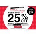 House - 3 Day Online Frenzy: Extra 25% Off on Already Reduced Prices (code) - Items from $1.46