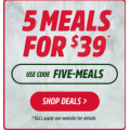 Youfoodz - 5 Meals for $39 Delivered (code)! Usually $9.95 Each