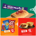 7-Eleven - Epic Wednesday Sale: $1 Cadbury Marble Medium Bar; $1 Sausage Roll; $2 90g CC's Varieties; $3 Beef Pie etc.