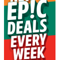 7 Eleven - Epic Weekly Deals e.g. Cadbury Bar varieties $1; Traditional Croissant $3; Salads $5 etc.