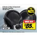 KENWOOD 2-Way Component Speakers $85 (Save $64) @ Autobarn