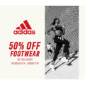 Adidas Factory Outlet - Weekend Sale: 50% Off Footwear [Fri 7th - Sun 9th Aug, 2020]