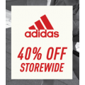 Adidas Factory Outlet - Big Weekend Sale: 40% Off Storewide [Fri 11th - Sun 13th June, 2021]