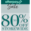 Katies - Afterpay Sale: Up to 80% Off Storewide e.g. Accessories $5; Top $5; Jean $5; Tank $6.48 etc.