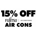 The Good Guys - 15% Off Fujistu Air Cons (code)! 2 Days Only