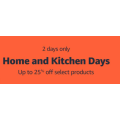 Amazon - Home and Kitchen Day Sale: Up to 25% Off Selected Products! 48 Hours Only