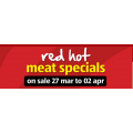 Red Hot Meat Specials On Sale @ ALDI