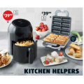 Aldi - Kitchen Appliances Sale: 2.5L Digital Air Fryer $39.99; 2-Slice Textured Toaster $24.99 etc. [Starts Wed 3rd March]