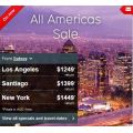 Qantas Americas on Sale - Flights from $1249