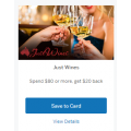 AMEX Latest Offers: Just Wines - Spend $80 or more, get $20 back | Rockpool Dining Group - Spend $100 or more, get $20 back & More