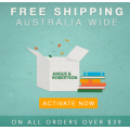 Angus & Robertson - Free Shipping on Orders - Minimum Spend $39