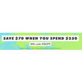 ASOS - New Season Sale: $70 Off Everything - Minimum Spend $250 (code)